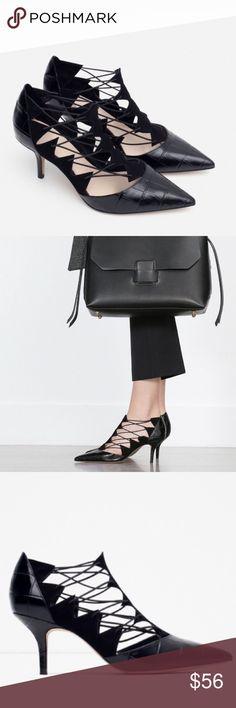Zara heels Brand new w no tag. Zara Shoes Heels
