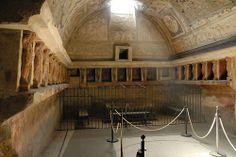 Pompeii-Forum Baths-Tepidarium-warm room