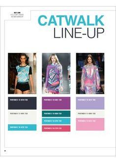 Next Look Colour Usage No. 01/2014 S/S 2015