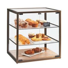 Shop Cal-Mil 3610 3 Tier Vintage Bakery Display Case with Wood Base - 21 inch x 17 inch x 23 inch. Unbeatable prices and exceptional customer service from WebstaurantStore. Bakery Display Case, Pastry Display, Glass Display Case, Display Cases, Cafeteria Menu, Oreo Torte, Vintage Bakery, Chafing Dishes, The Doors