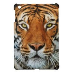 Tiger Face Photograph Cover For The iPad Mini