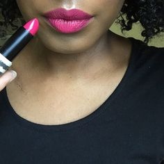 Fuchsia is my red #100LippyDays 13/100 Defy Me @topshop currently £3 in…