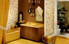 1960's bathroom | In the kitchen, it's Andy Warhol pop colors all the way. That's ...