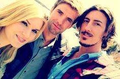 Audrey, Nathan and Duke from Haven-another show I love and lost track on--I think I need to watch season 3 to current