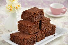 Pumpkin Fudge Brownies Recipe via Fudge Brownies, Chocolate Banana Brownies, Chocolate Chip Muffins, Healthy Brownies, Melted Chocolate, Chocolate Chips, Milo Recipe, Healthy Desserts, Dessert Recipes