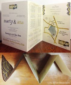 Watercolored Wedding Invitations: Marty & Ana | Life After Breakfast