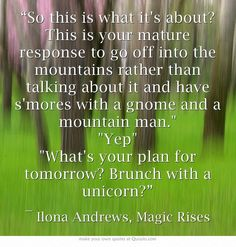 ilona andrews kate daniels series images quotes - Bing Images