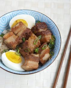 Since we're now officially deep into winter, I'd like to re-share a recipe  for Japanese pork belly, or buta no kakuni. Really, there are few things  that are better on a cold day than a bubbling pot of braised pork belly and  its aroma of of ginger, scallions, star anise, and sweetened soy sauce  altogether. And because we're still in the midst of the holiday season, you  have an excuse to indulge. Here is a revised version of the recipe, first  published in April 2010.  At a dinner party…