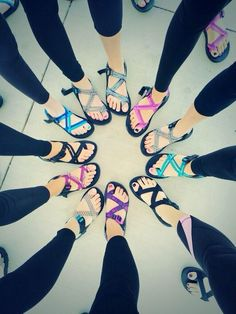Chacos are sweet.