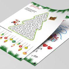 Masser af sjove aktiviteter til julemåneden der blot skal printes. Printer, Playing Cards, Printers, Playing Card Games, Game Cards, Playing Card