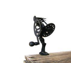 Antique Apple Peeler Black Cast Iron Hudson by OceansideCastle, $32.99