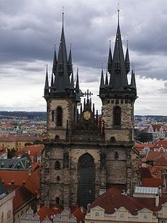 The Church of Mother of God in front of Týn- Wikipedia, the free encyclopedia