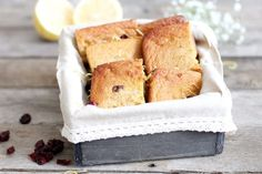 Gluten-Free Lemon Bars with Cranberries Recipe - Dr. Axe