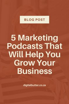 Want to learn business tips from the best in the industry? We share what we believe to be the 5 best business marketing podcasts that will help your business grow to the next level! #podcastmarketing #podcast #websitebranding #digitalmarketing #websitetips #designtools #brandingtools #marketingtips #websitemarketing Content Marketing Strategy, Small Business Marketing, Business Tips, Online Business, Seo Tutorial, Marketing Quotes, Growing Your Business, Social Media Tips, Online Marketing