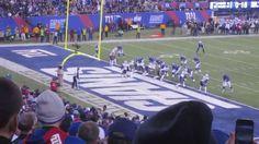 Eli Manning to Dwayne Harris 1 yd TD - Fan's View (NY Giants vs New England. #NFL #NYGiants #NewEngland #Patriots #NFLFilms #football