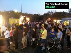 The Food Truck Bazaar is Central Florida's original travelling food truck event, started in March 2011. Follow this event wherever it goes by checking out it's itinerary each month (always subject to change without notice!): http://www.thedailycity.com/2011/05/thedailycitycom-food-truck-bazaar.html #foodtruck #orlando