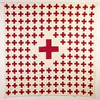 Antique Red Cross quilt