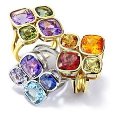 Elsa rings by Cassandra Goad