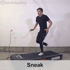 Guy on treadmill demonstrates 100 styles of walking Lifehacks, Tim Beta, Animation Reference, Body Reference, Top Funny, Stop Motion, Get The Job, Walk On, Treadmill