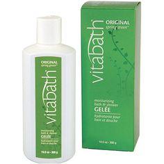 Vitabath Original Spring Green Moisturizing Bath and Shower Gelee 10.5 oz.