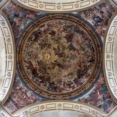 Kuppel 07 – Kuppelarchitektur aus zentraler Perspektive. Eine Entdeckungsreise in ornamentalen Reichtum, Geometrie, Statik und Geschichte. 2013, MD | © www.piqt.de | #PIQT