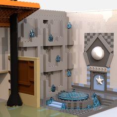 LEGO IDEAS - Steven Universe's Beach House Lego Steven Universe, Build My Own House, Lego Ideas, Beach House, Entrance, Have Fun, Building, Projects, Home Decor