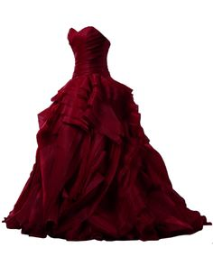 Sunvary Luxurious Burgundy Ball Gown Quinceanera Dresses for Prom with Ruffles at Amazon Women's Clothing store: Chiffon Evening Dress