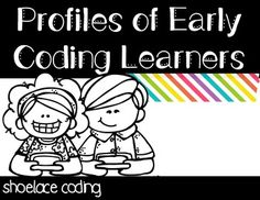 Coding - what is it good for? If you teach little learners - absolutely everything! Grab these posters to show admin and other classroom visitors what your goals are for your little coders.