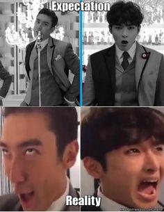 Hallyu kings #SuperJunior #Siwon #Ryeowook | allkpop Meme Center