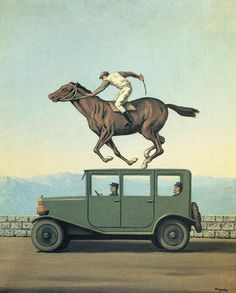 The Anger of Gods -- René Magritte