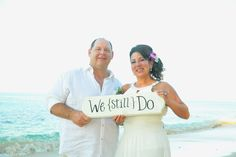 I will do this one day!!!!!.....25th anniversary, vow renewal, beach wedding