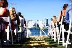 candelas beach front wedding