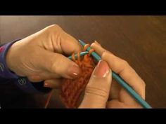 Dos agujas: tejido tubular