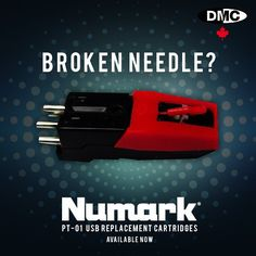 All that portable #skratching making you itch? Replacement #Numark PT-01 USB / Touring cartridges / needles are available from #DMCCanada! $17.99 plus  HST and shipping. #Contact us for details! #numark #pt01 #usb #portable #turntable #turntablism #scratch #djbattles #djgear #vinyl #raidenfader #friskfader #dmcanada #stylus by dmc_canada http://ift.tt/1HNGVsC