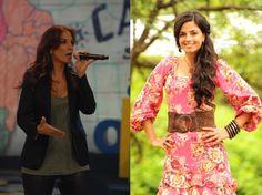 As cantoras baianas Emanuelle Araújo e Ivete Sangalo, também ex-vocalistas da Banda Eva, vão contracenar juntas em um dos episódios da série global As Brasileiras. As gravações começam ainda este mês.