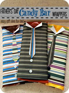 How to Make a Candy Bar Wrapppers - Father's Day Gift For the man who has everything. Easy Gift Idea for dad Candy Bar Wrappers. make these easy candy bar wrappers for dad this Father's Day. Diy Father's Day Gifts Easy, Handmade Father's Day Gifts, Homemade Fathers Day Gifts, Father's Day Diy, Fathers Day Crafts, Simple Gifts, Gifts For Dad, Diy Gifts, Fathers Day Ideas