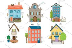 Sweet Home Vector Illustration by Microvector on @creativemarket