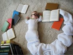 Halloween - bookworm baby?