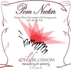 Mead Wine - NV Wild Blossom Meadery Winery Pome Nectar Mead 750 mL ** Visit the image link more details. Baby Food Recipes, Wine Recipes, Gourmet Recipes, Snack Recipes, Mead Wine, Honey Wine, Gourmet Gifts, Candy Gifts, Pomegranate