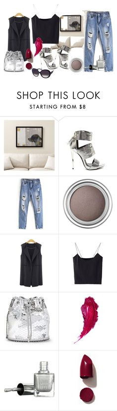 """""""Bez tytułu #121"""" by marta81-1 ❤ liked on Polyvore featuring Crate and Barrel, Christian Dior, WithChic, STELLA McCARTNEY, NARS Cosmetics and Aquaswiss"""