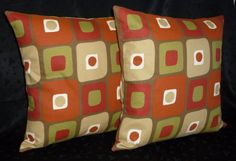 Throw Pillows Accent Pillows Decorative Pillows  Two by berly731, $34.99