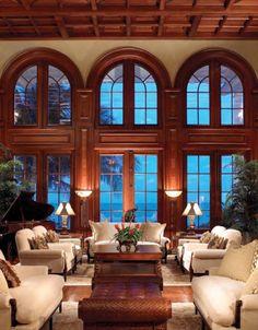 British Colonial Island Estate Living Room