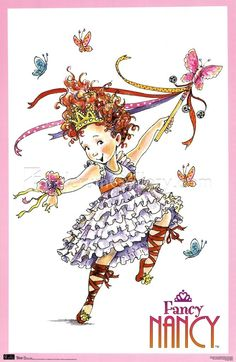 Fancy+Nancy+Clip+Art+Free | Fancy Nancy - Ballet Wall Poster by ...