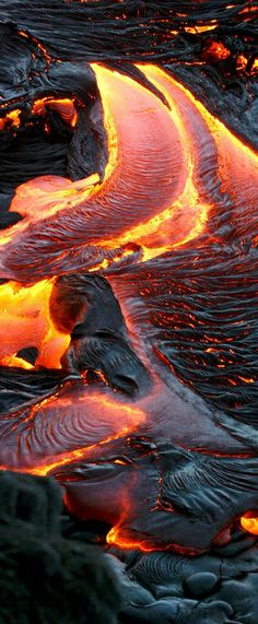 The colorsbof lava. Amazing.