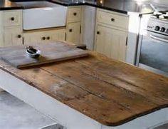 build wood kitchen countertop