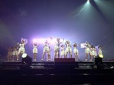 JKT48 *Sister Group AKB48* (Idol Group) Live in Tokyo Dome, Japan