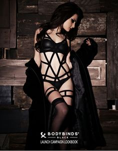 Bondage Lingerie, Garters and Harnesses by Bodybinds® | Bodybinds Lookbooks