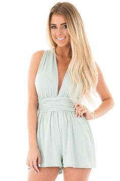 Lime Lush Boutique - Pale Blue Versatile Tie Back Romper, $39.99 (https://www.limelush.com/pale-blue-versatile-tie-back-romper/)#fashion#spring#happy#photooftheday#followme#follow#cute#tagforlikes#beautiful#girl#like#selfie#picoftheday#summer#fun#smile#friends#like4like#pinterestfollowers