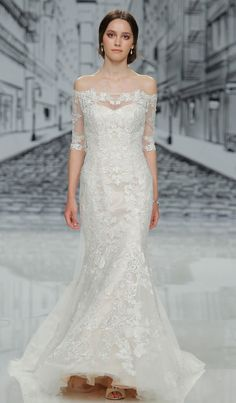 Float Down the Aisle in These Justin Alexander Spring 2017 Wedding Dresses…