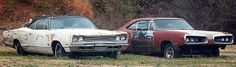 Junkyard Life: Classic Cars, Muscle Cars, Barn finds, Hot rods and part news: Cars in Yards